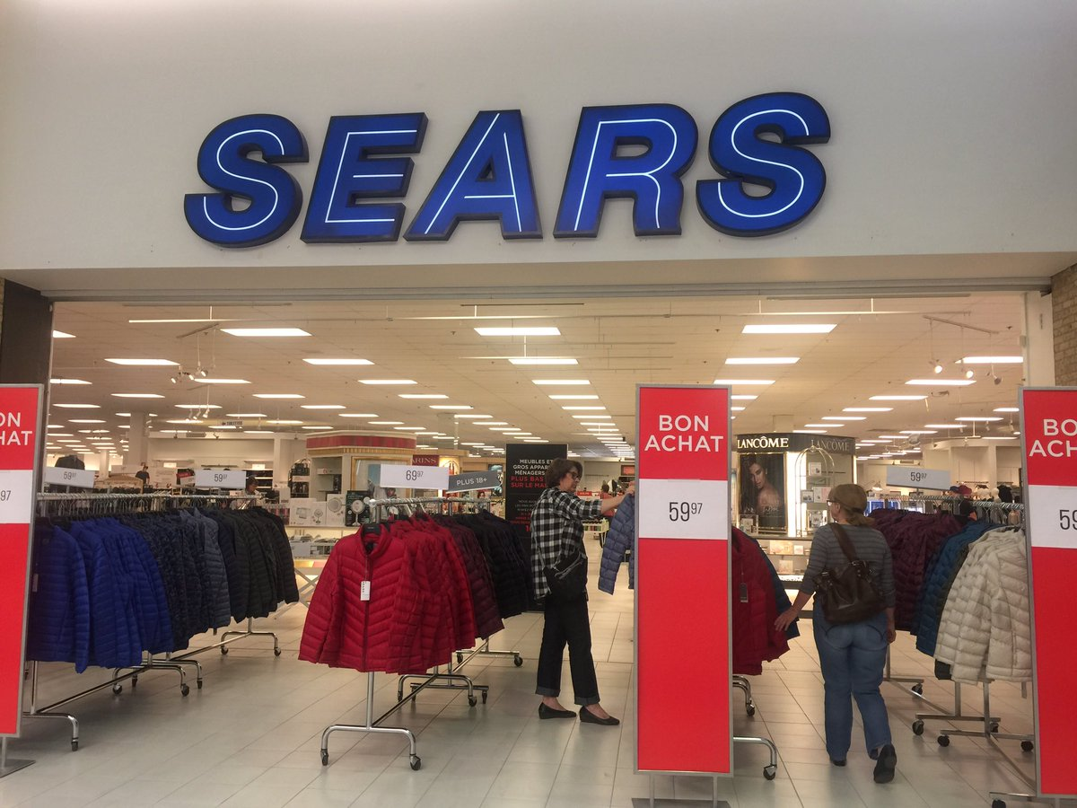 Brigittemarcoux On Twitter Les Employes Du Magasin Sears Carrefour