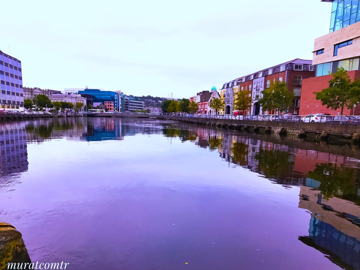 Can this view be one of the reason why people love Cork so much?Cork City, Ireland . #cork #city #ireland #riverlee #colorful #autumn<br>http://pic.twitter.com/6iUzIsF55b