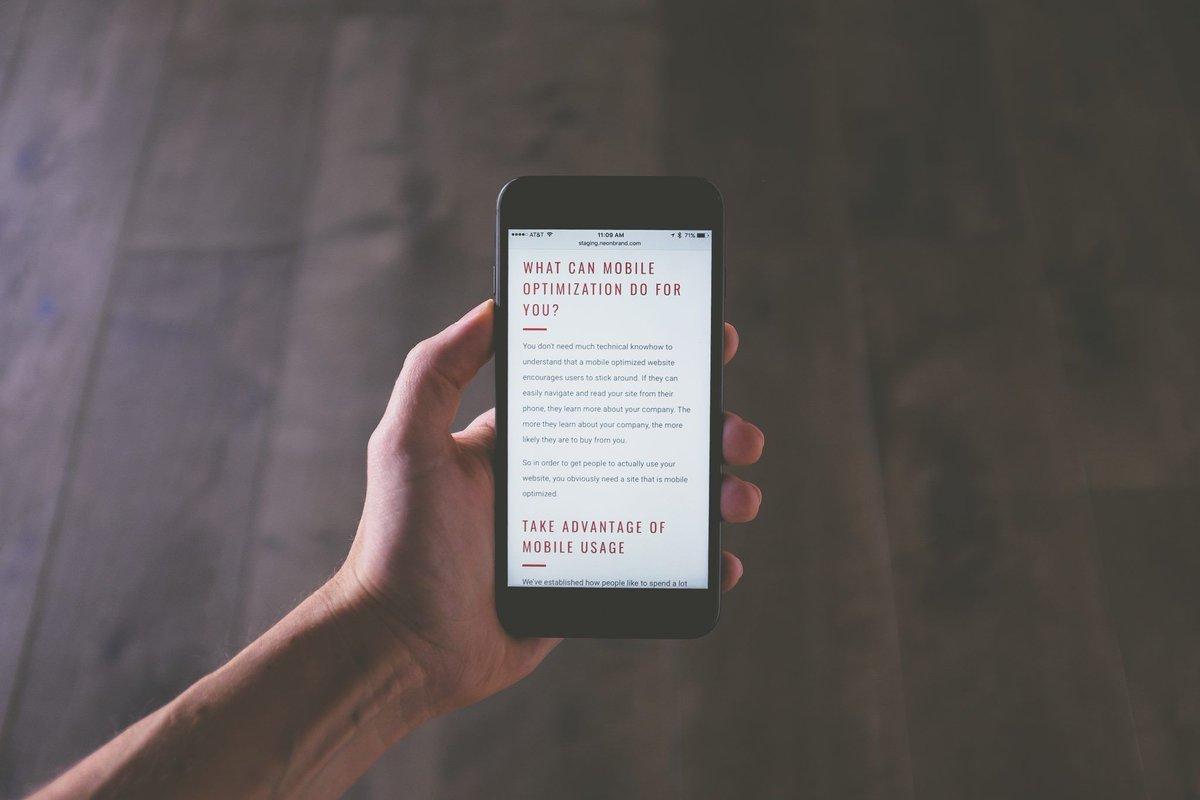 Raidboxes On Twitter Wenn Du Dein Angebot Für Mobile Optimieren