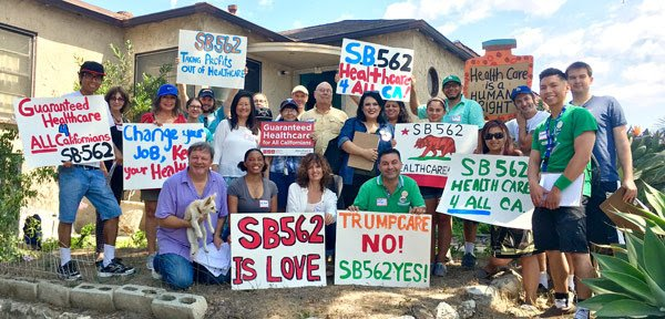 Join healthcare justice activists on Oct. 14-15 for a statewide weekend of action for #Medicare4All and #SB562  http:// bit.ly/2yaPfBT  &nbsp;  <br>http://pic.twitter.com/sZMMh2Xa5o