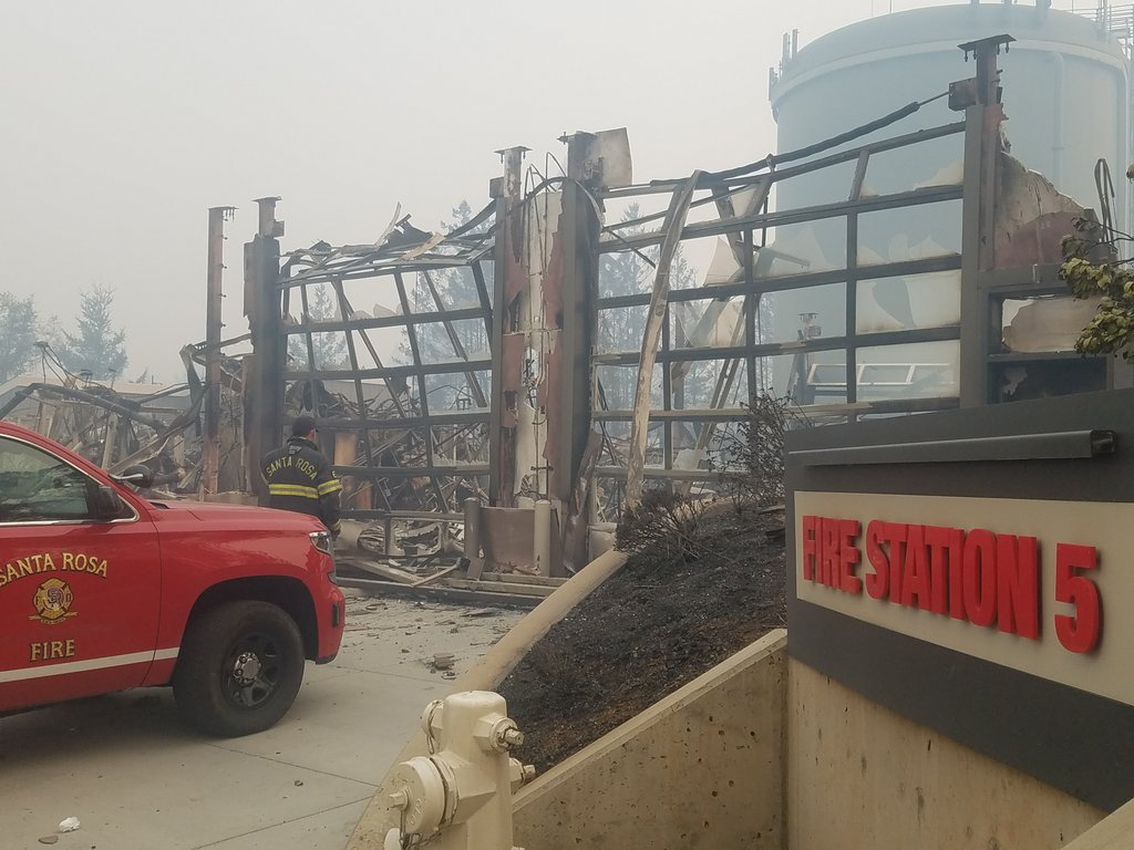 Total devastation in Northern California Fires. @IAFFNewsDesk   Disaster Relief here for our Members in need who lost homes. #10th #Union<br>http://pic.twitter.com/sUdLWQuwpW