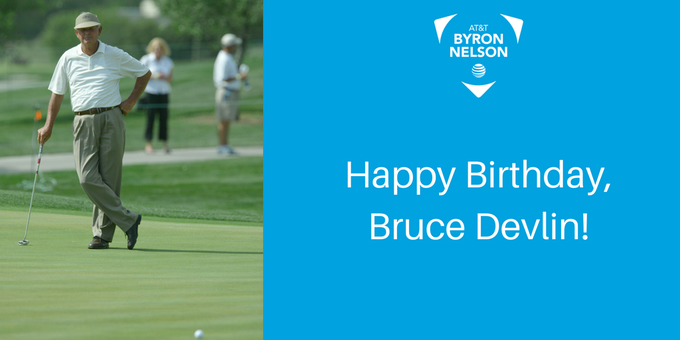 Happy birthday to our 1969 champion, Bruce Devlin.