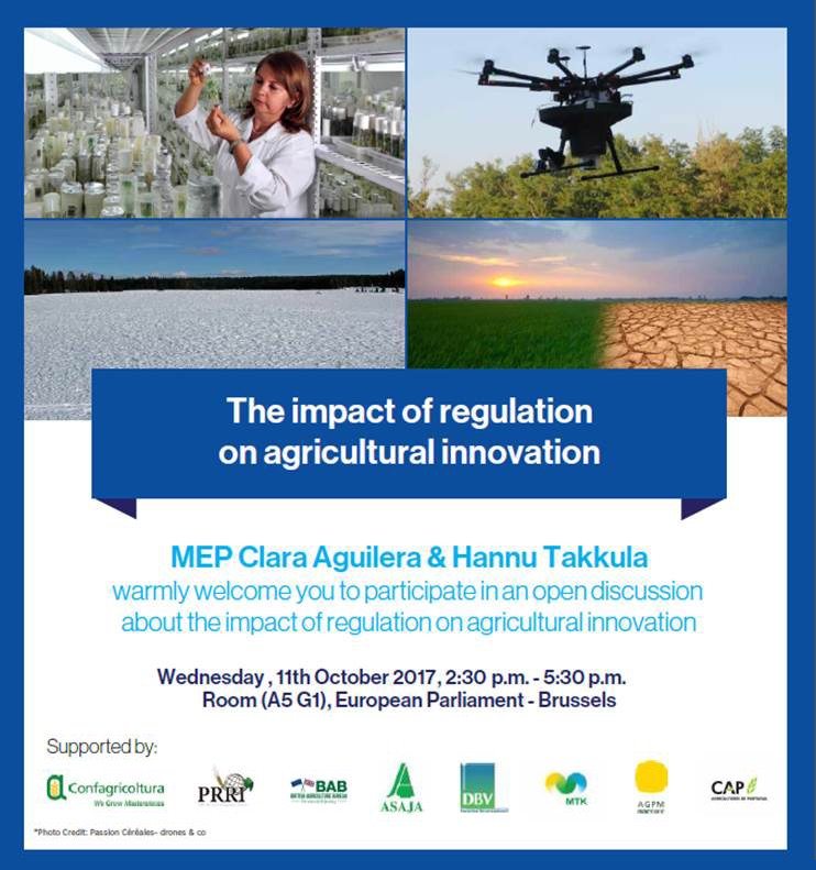 JOIN US TOMORROW LIVE here &amp; #agrinnovation on Impact of regulation on agricultural #innovation , 2.30-5.30pm CET #PlantBreeding #biotechEU <br>http://pic.twitter.com/B2OmU4xy5h