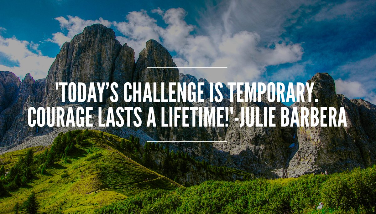&#39;#HoldOnToHope Today&#39;s #challenge is temporary. #Courage lasts a lifetime!&#39; #ThinkBIGSundayWithMarsha #faith #inspiration #resilience #hope<br>http://pic.twitter.com/b0qTXrZPKC