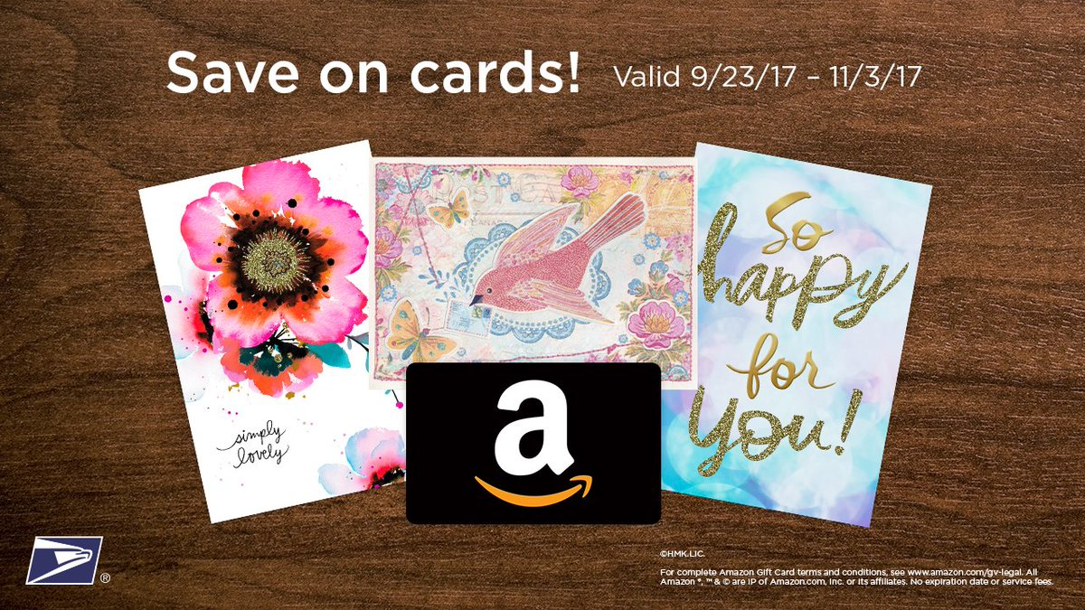 Us Postal Service On Twitter Buy One Amazon Gift Card Valued At