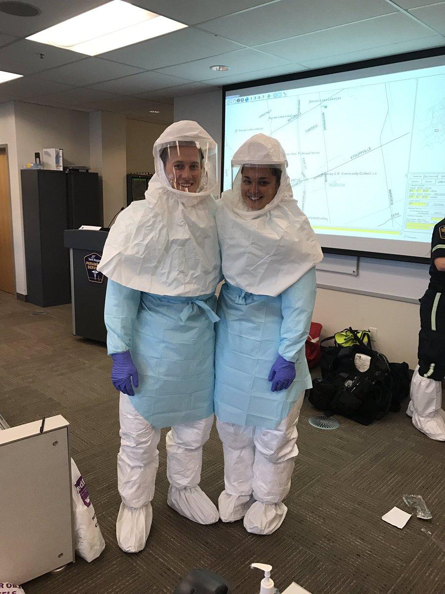 "york paramedics على تويتر: ""not our recruits' halloween costumes"