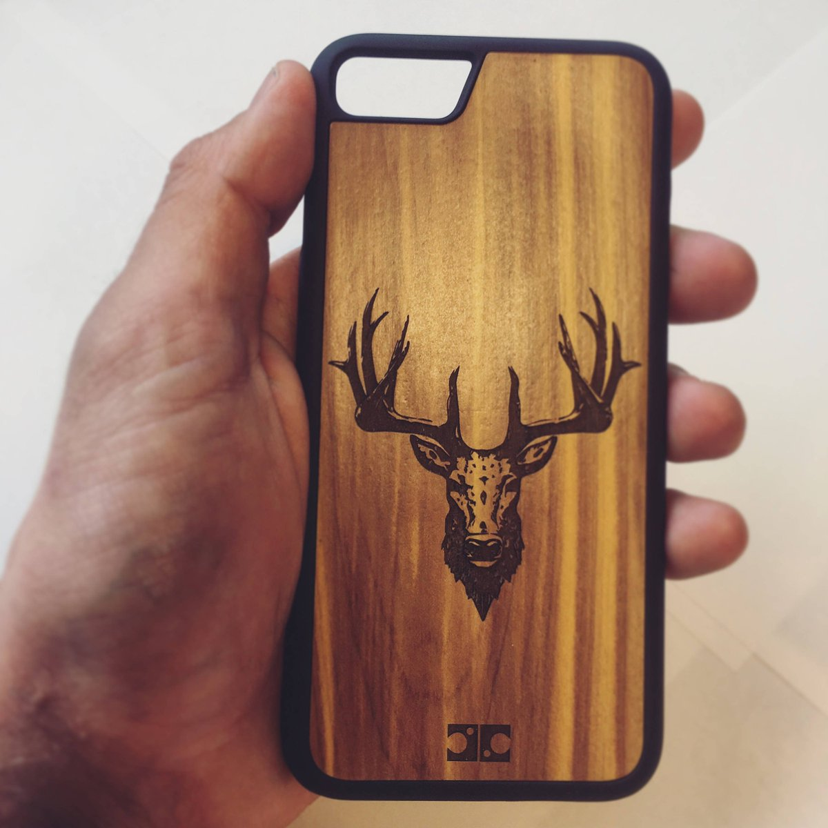 Juicy Creations On Twitter Stag Wooden Bamboo Phone Case Engraved Wood Cover For Iphone 5 6 7 Of Https T Co 0c9oc7ghnj Etsy Woodcase