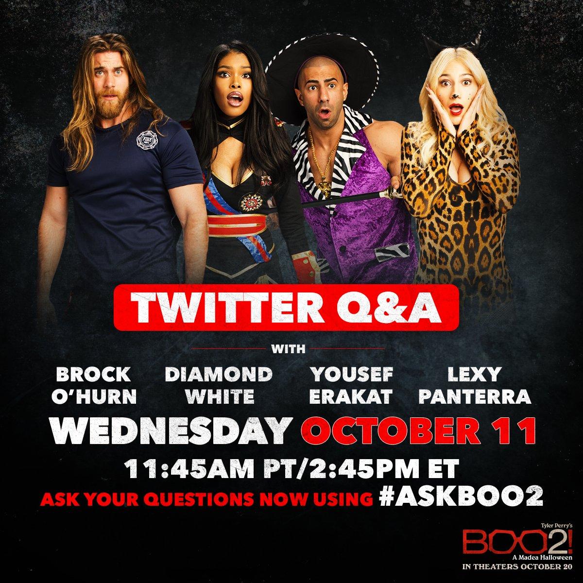 Boo2! A Madea Halloween LIVE Cast Q&A!