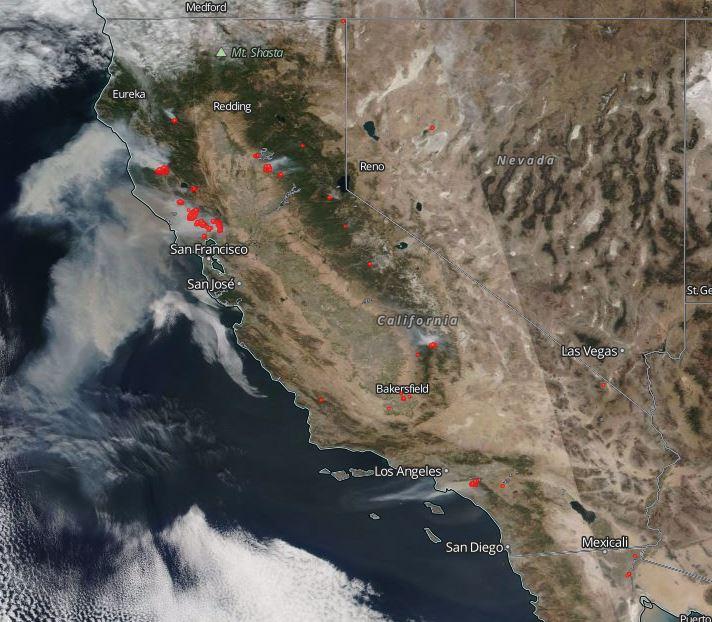 Seguimiento gran incendio en California 2017 DLywYxWWAAINxqp