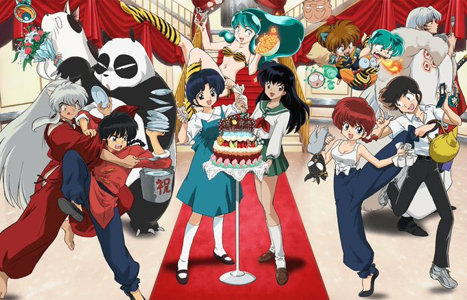 Happy birthday Rumiko Takahashi, born on October 10, 1957, Japanese artist!