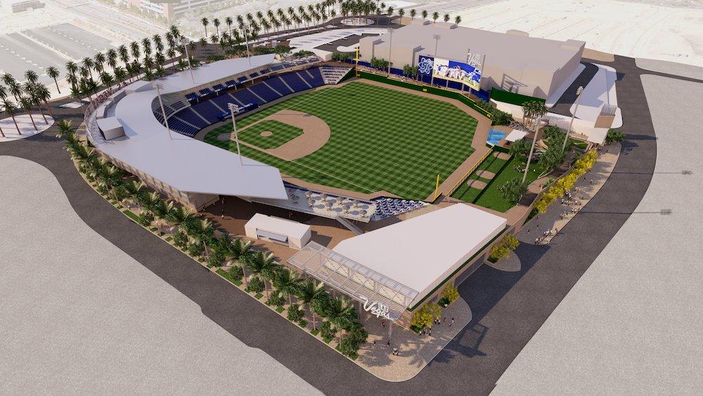 More renderings of Las Vegas Ballpark at Downtown Summerlin! Full press release too. https://t.co/44PhBr67zr https://t.co/kPv68auqjo