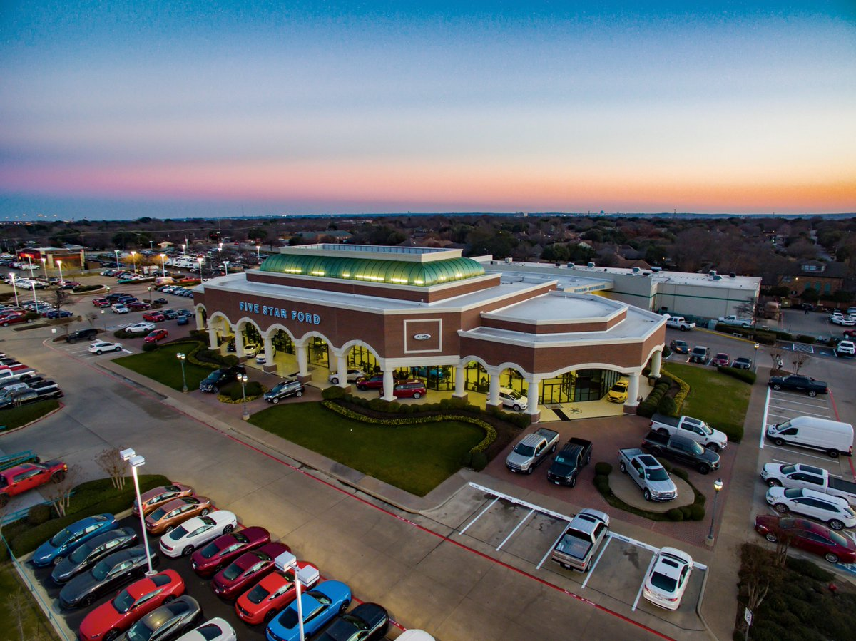 Five Star Ford North Richland Hills >> Five Star Ford On Twitter Evening Vibes At The Dealership