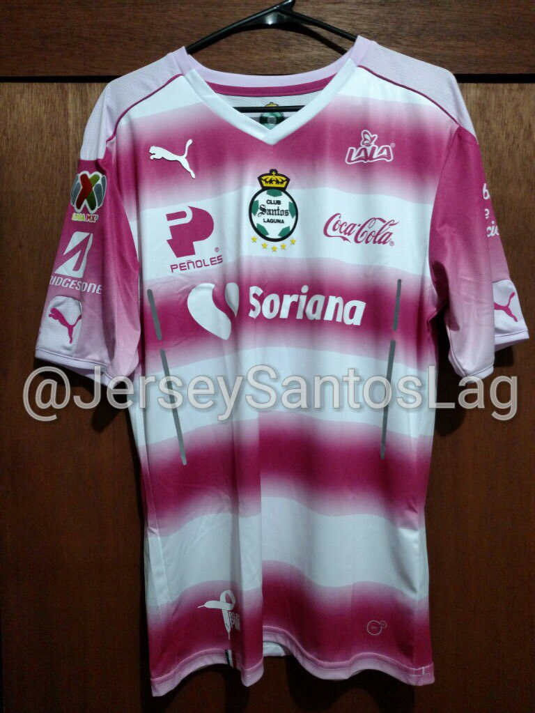 watch f5bc3 7f65d Jersey Santos Laguna - Andrés on Twitter:
