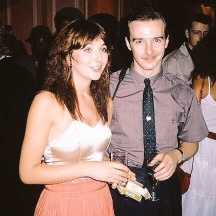 Happy Birthday to the amazingly talented musician Midge Ure born on this day 1953 pictured with Kate Bush