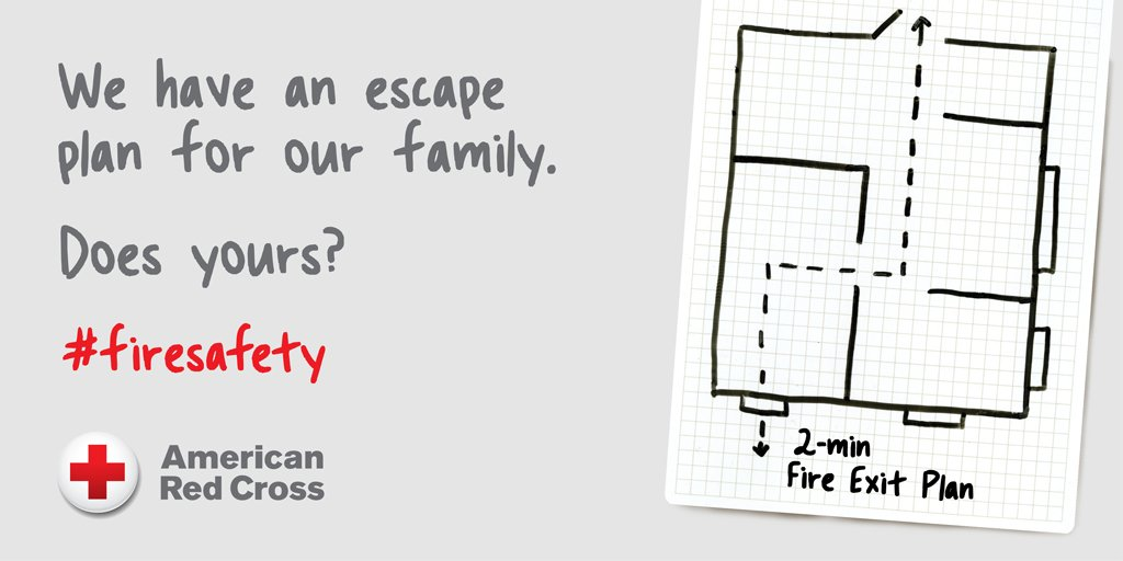 Red Cross Northwest On Twitter You May Have 2 Minutes To Escape A