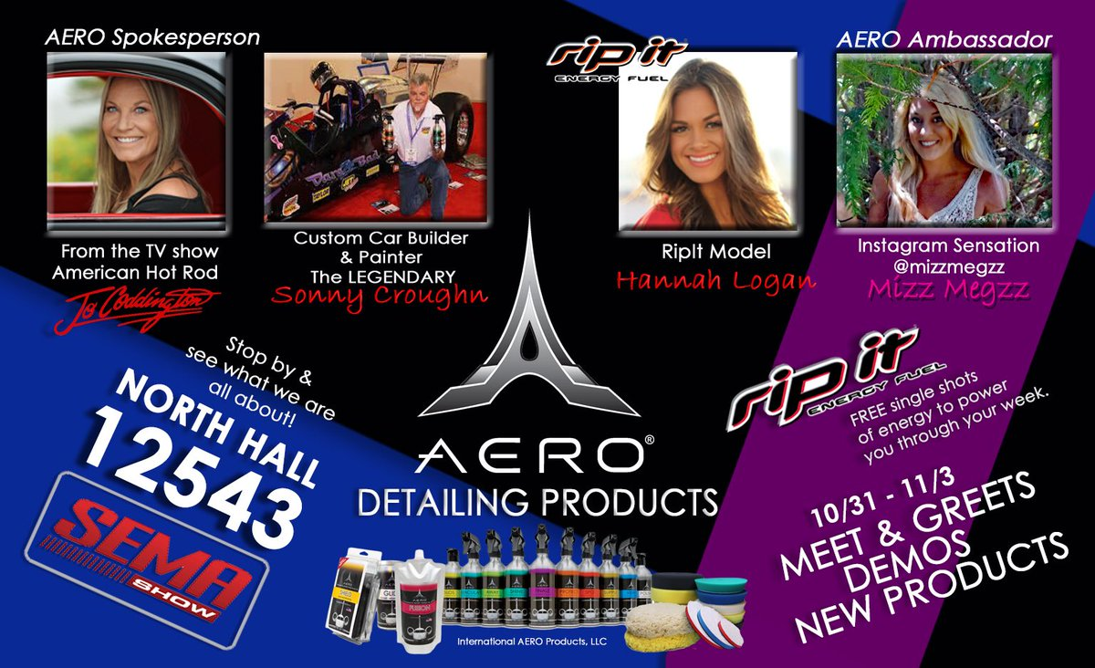 Team aero on twitter visit the aero booth 12543 at sema team team aero new products and celebrity meet greets check out our facebook page to see more info httpstzzjekvzieb m4hsunfo