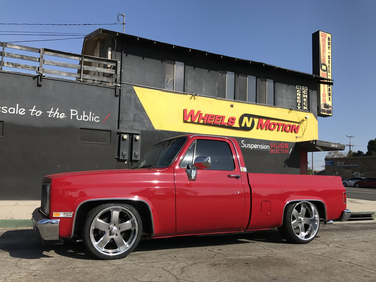 All Chevy chevy c10 20 wheels : WHEELS N MOTION on Twitter: