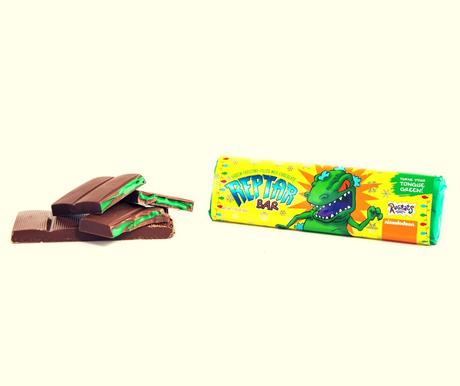 90s Kids, You Can Get 'Rugrats' Reptar Bars This Week https://t.co/qXe6LGU0tJ https://t.co/Y3pCbSZss6