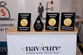 Recognizing Navicure @Navicure #MGMA17 a Black Book Top 50 Disruptive Health IT at MGMA Annual Meeting #Physicians #revcycle #claims #CFO<br>http://pic.twitter.com/Dh8BQ9Js3i