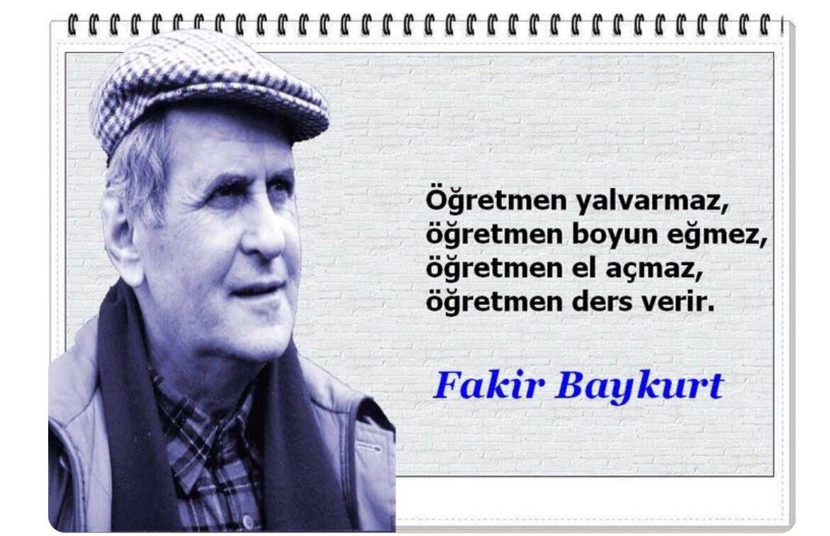 Vatansever öğretmen Fakir Baykurt'u vefa...