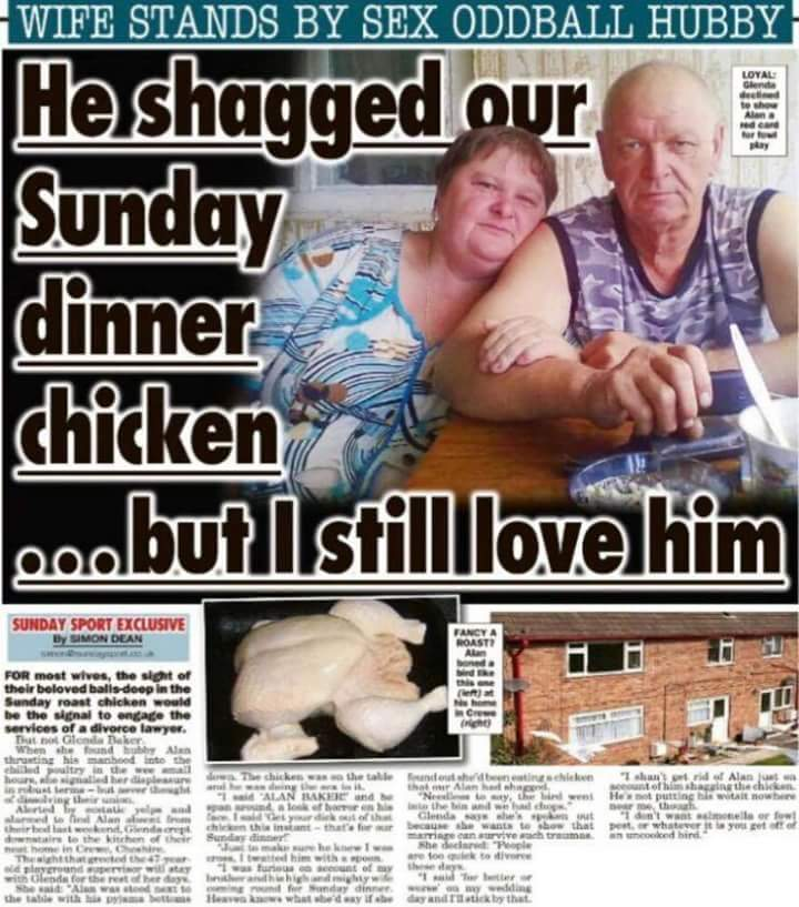 man has sex with chicken