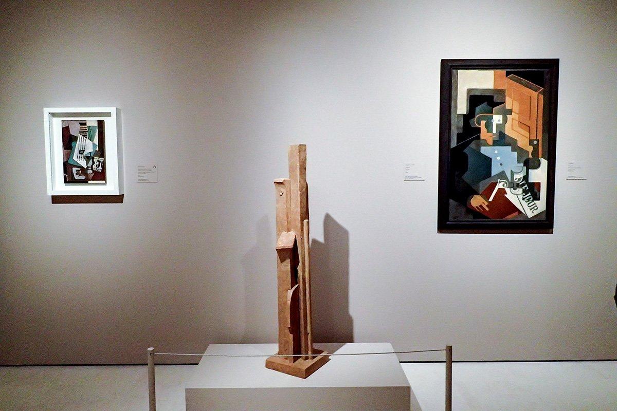 DLzZLRaWkAArike - Juan Gris y María Blanchard en el Museo Carmen Thyssen de Málaga
