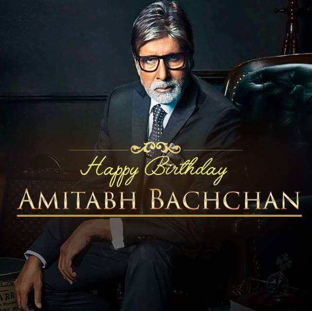 Rishtey mi yeh sabke baap hote h naam h AMITABH BACHCHAN...  Happy Birthday Sir..