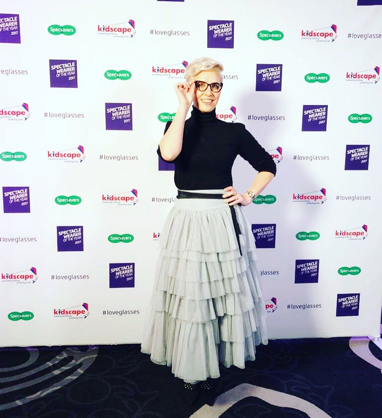 So excited to be attending the @Specsavers awards tonight in aid of @Kidscape #loveglasses 💗👓🤓 https://t.co/1aYxgWxQEw