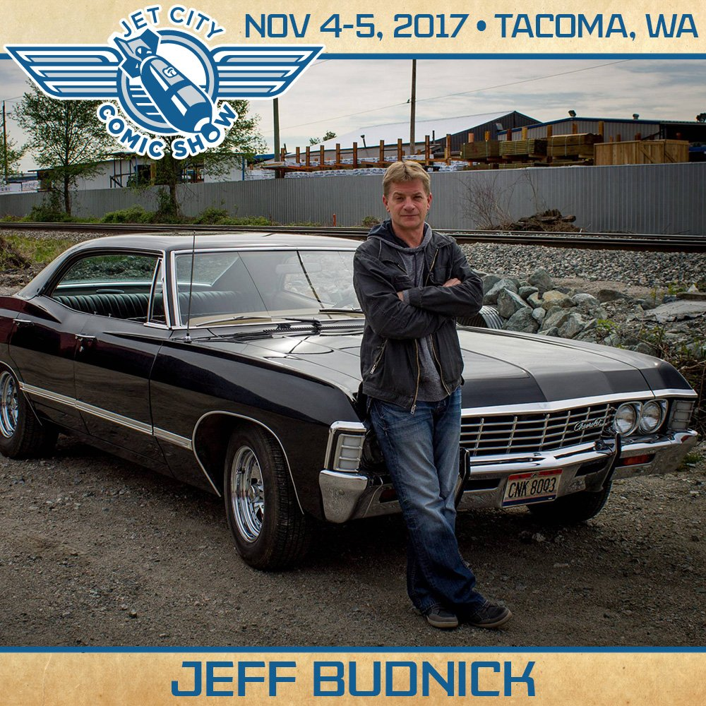 Jet City Comic Show On Twitter Wed Like To Welcome Jeff Budnick - Supernatural show car