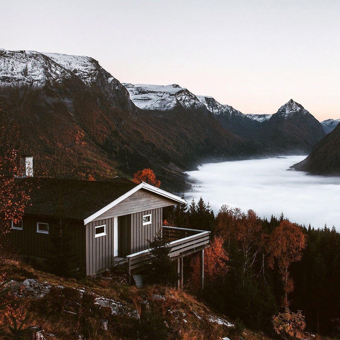 Красивые фото дома норвегии история