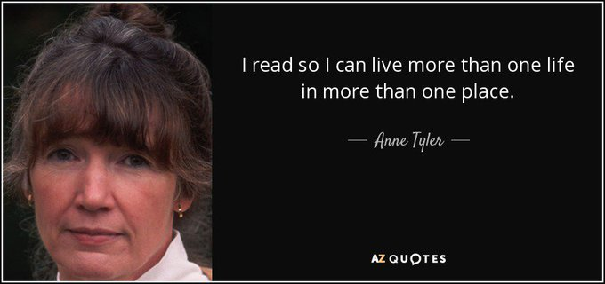 Happy birthday to novelist Anne Tyler, born today in 1941.