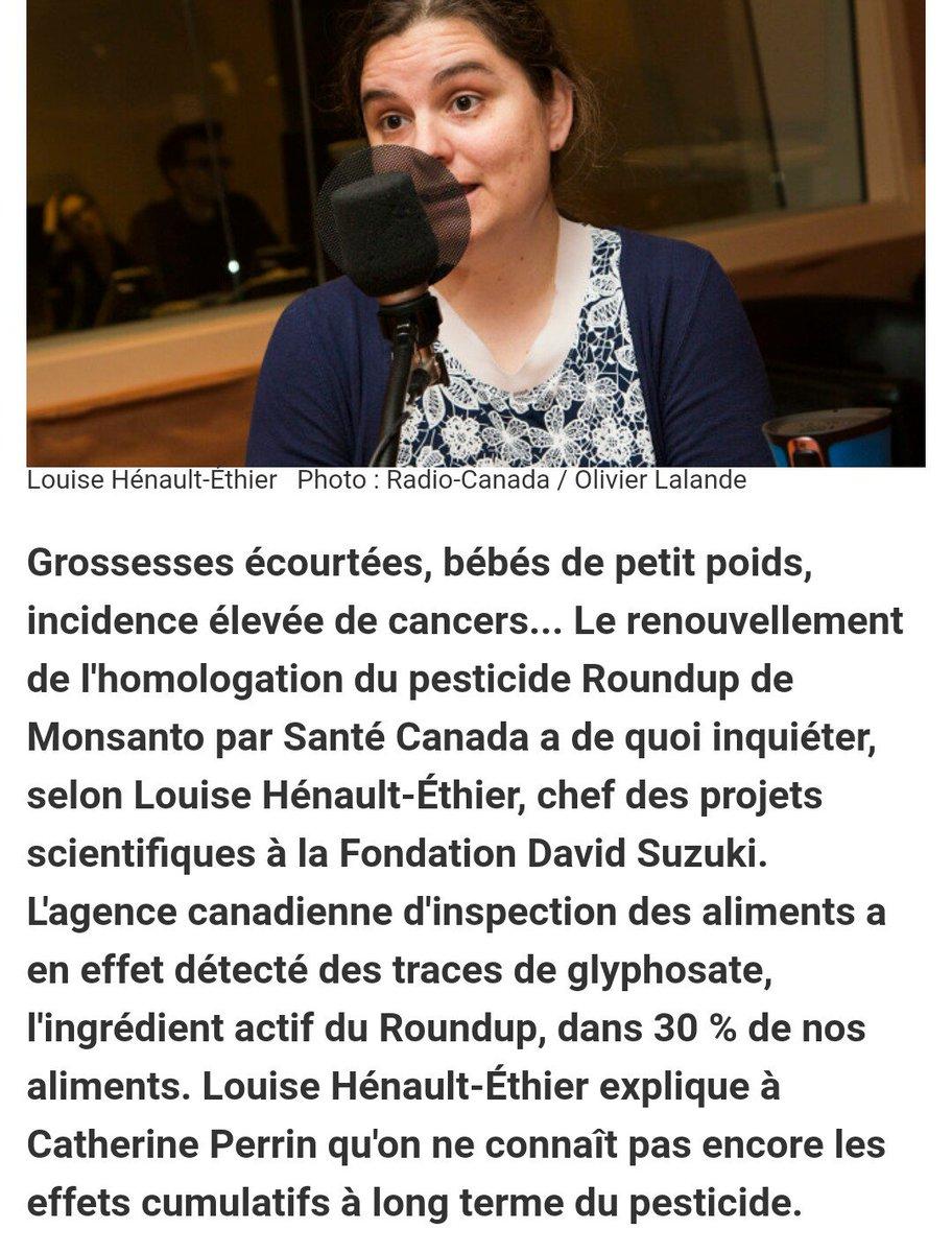 #referendumCETA  Les européens ne veulent pas du #glyphosate @EPhilippePM  Saviez-vous qu'il est présent dans 30% des aliments canadiens ?pic.twitter.com/CA8ziJ3h7j