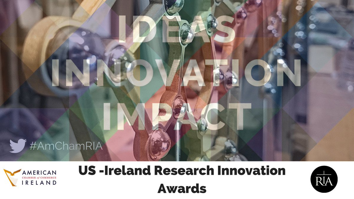 Ready for the #AmChamRIA 2018 awards process? Be recognised among Ireland's leading innovative teams. Applications from  innovate@ria.ie <br>http://pic.twitter.com/1U3qrjHDrP