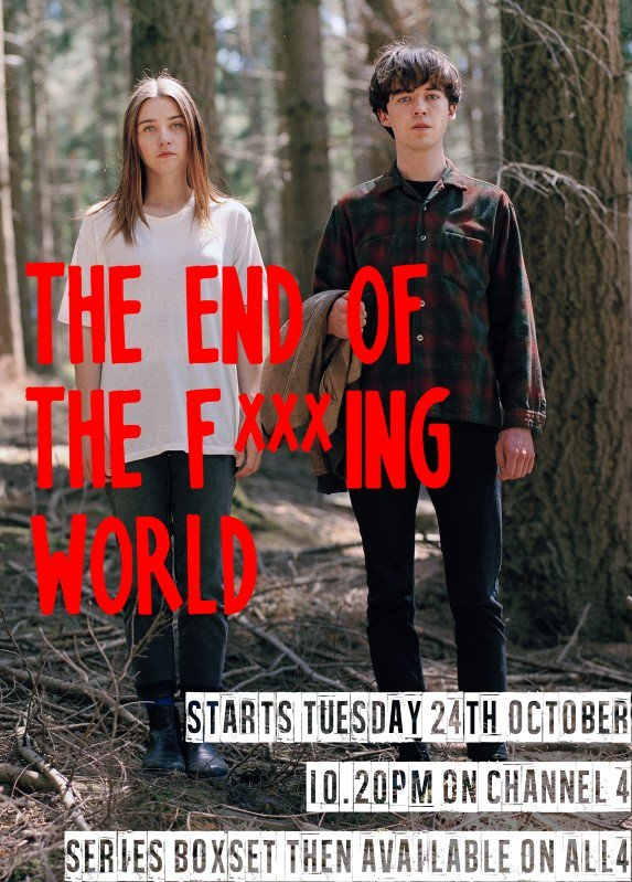All the episodes of The End of the F***king World starring @AJSawyer are available on @All4 now! @Channel4 #TEOTFW