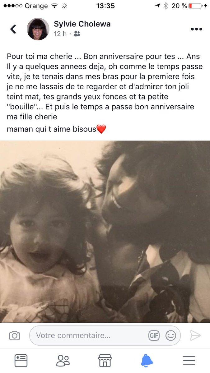 Laurie Cholewa On Twitter Merci A Ma Maman Et A Vous Tous Pour Vos