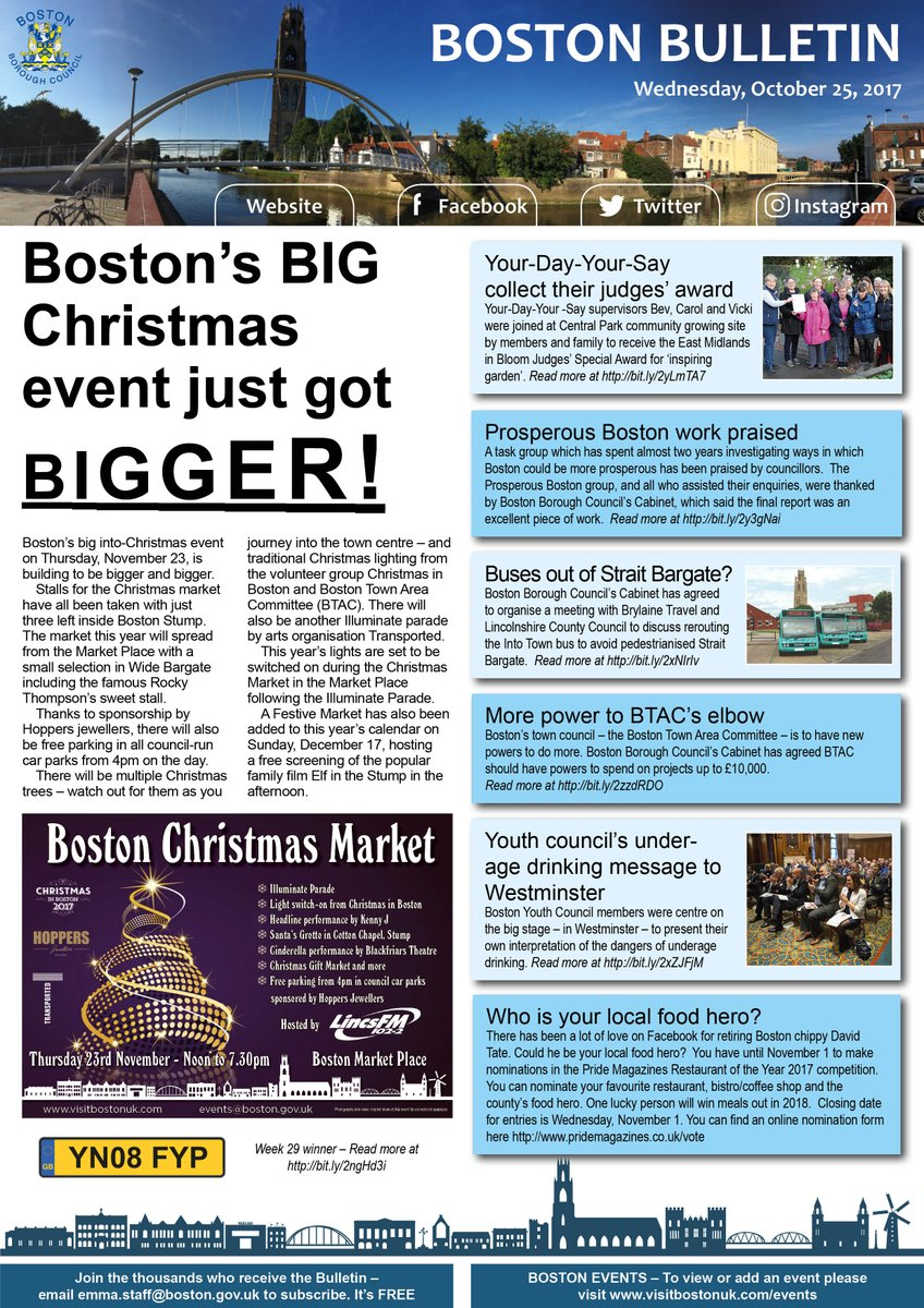 Support Us - Christmas in Boston