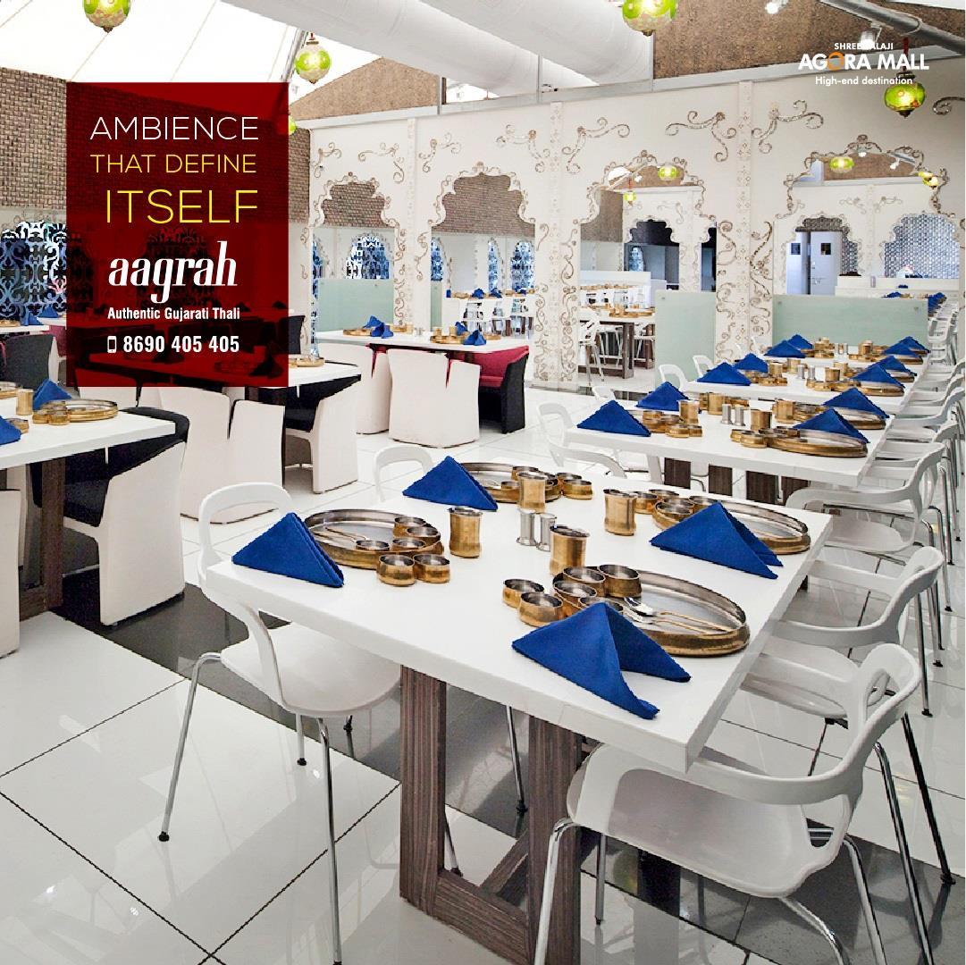 Design Define Ambiance aagrah restaurant twitter