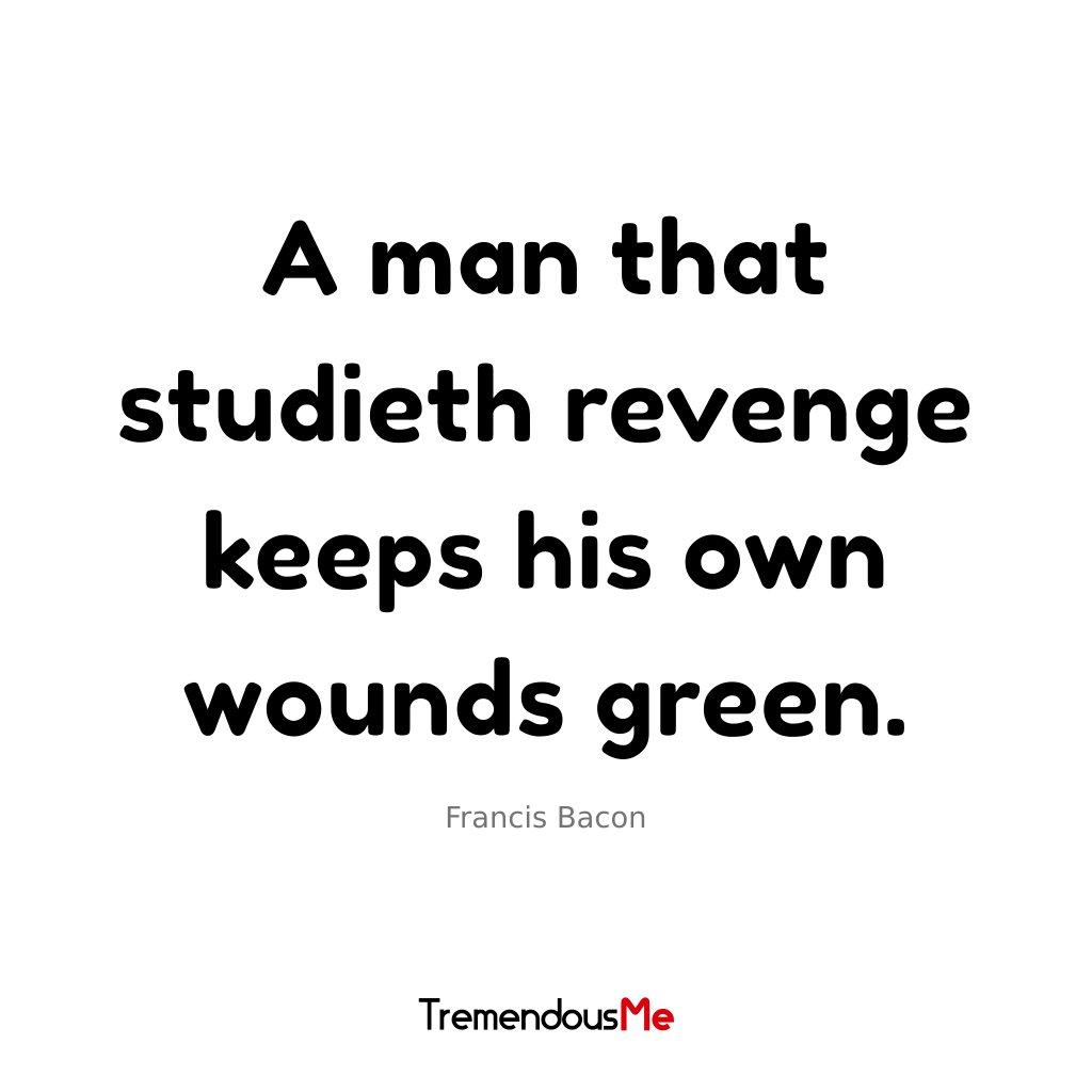 francis bacon of revenge