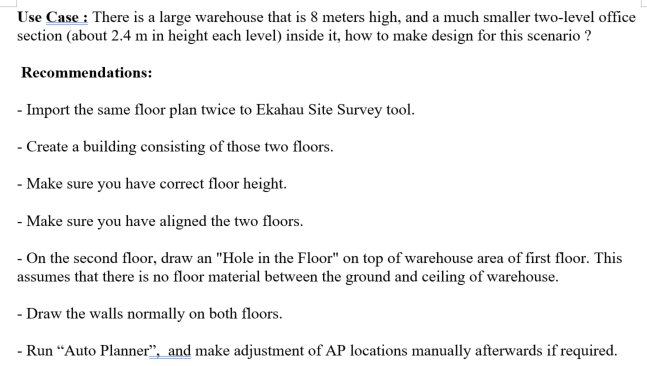#ESSTIP How To Design For Mezzanine Levels With Ekahau Site Survey Tool  ?pic.twitter.com/Y7Cr5GL6wF