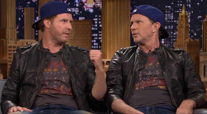 Happy Birthday Will Ferrell of CHICKENFOOT and RED HOT CHILI PEPPERS! Err..wait. Chad Smith. I meant Chad Smith.