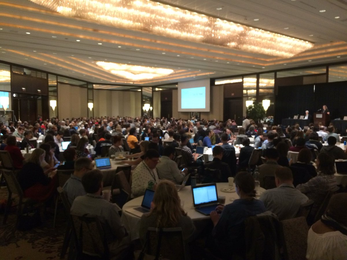 There sure are a lot of librarians here in Pittsburgh this week.  We hope they like #opendata #DLFforum<br>http://pic.twitter.com/TfOZ3nTWxh