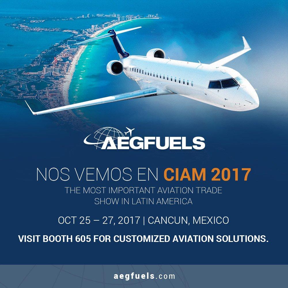 Next stop, CIAM 2017. Visit booth 605 to plan your #aviationsolutions #jetfuel #flightsupport #readyjetfuel #cancun #mexico #latinamerica<br>http://pic.twitter.com/9VyGRCxeK9