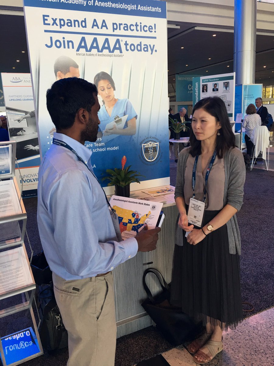 Aaaa On Twitter Check Out Aaaa At Asas Anesthesiology2017