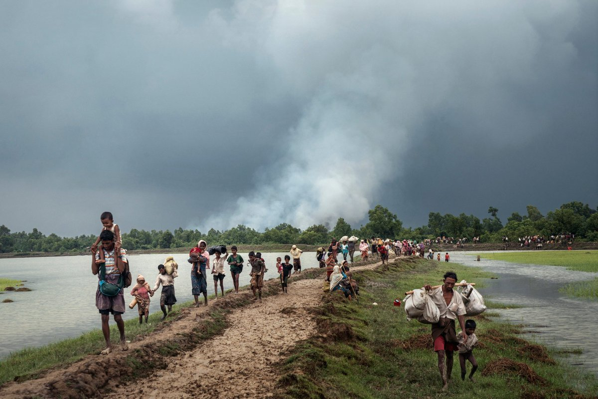 India to Myanmar: Take back your Rohingya Muslims. Strong support for view that ethnic cleansing shouldn't stand. https://t.co/H6lNgayoE0
