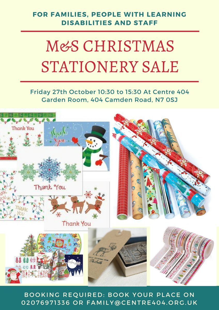 centre 404 team on twitter m s christmas stationery sale at centre