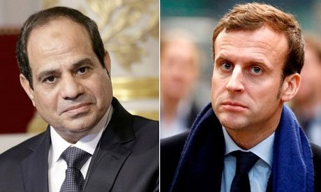 #Egypt 's #Sisi heads to #Paris for first meeting with #French President #Macron https://t.co/1WzAvY1z5y