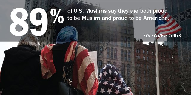 U.S. Muslims overwhelmingly say they are proud to be Americans https://t.co/phAy4fgkS6