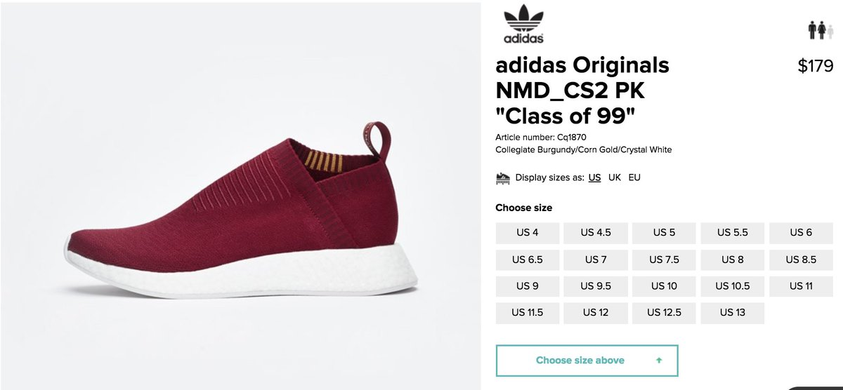 "91f6fa0365f6b Uživatel SOLE LINKS na Twitteru  ""SELECT ACCOUNTS get early access to SNS x  adidas NMD CS2 PK  Class of 99  Burgundy https   t.co Qvgdov8Kpq ..."