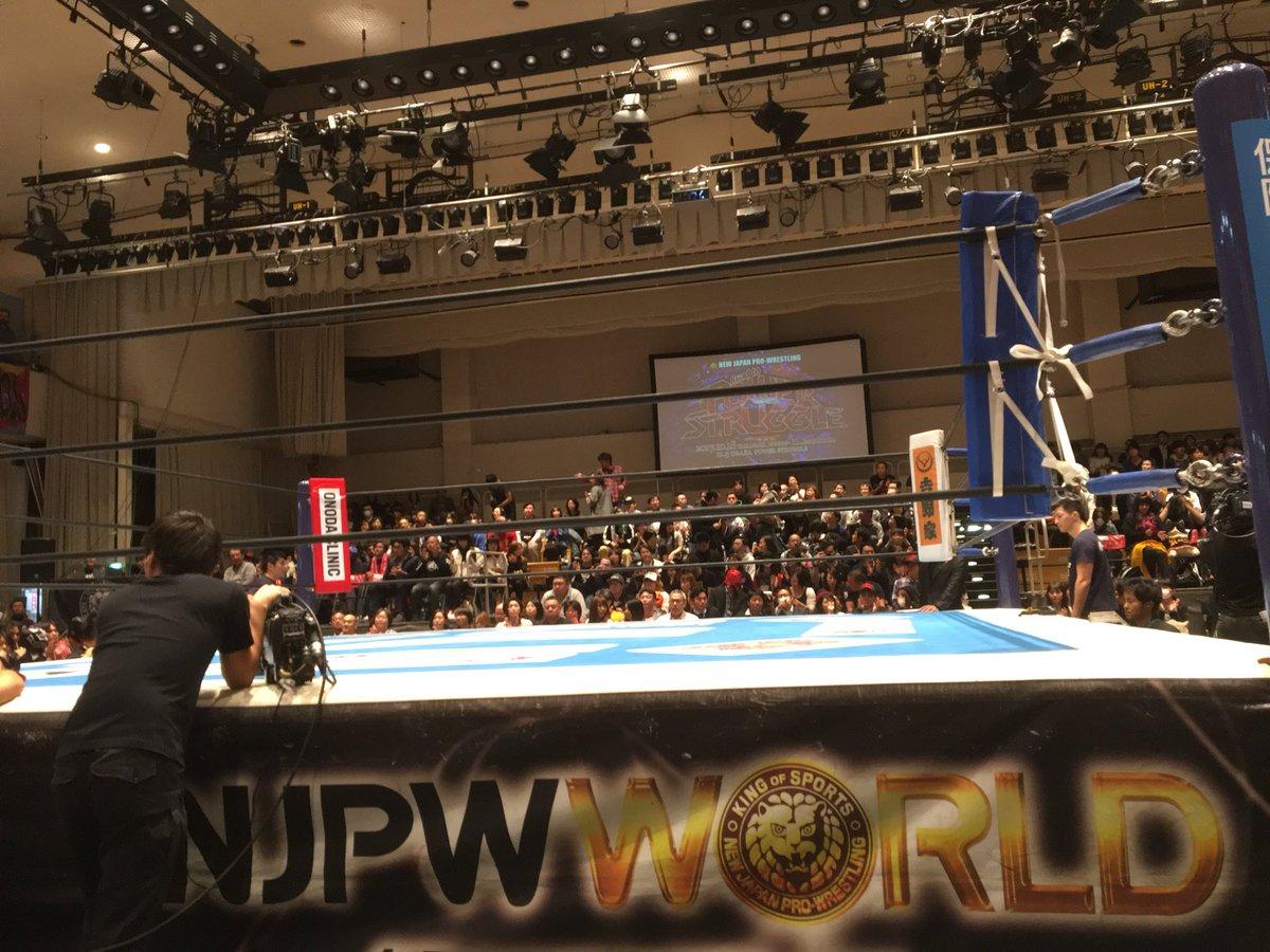 新日本プロレス・後楽園ホール大会、ニュージャパンワールドでLIVE配信です。...