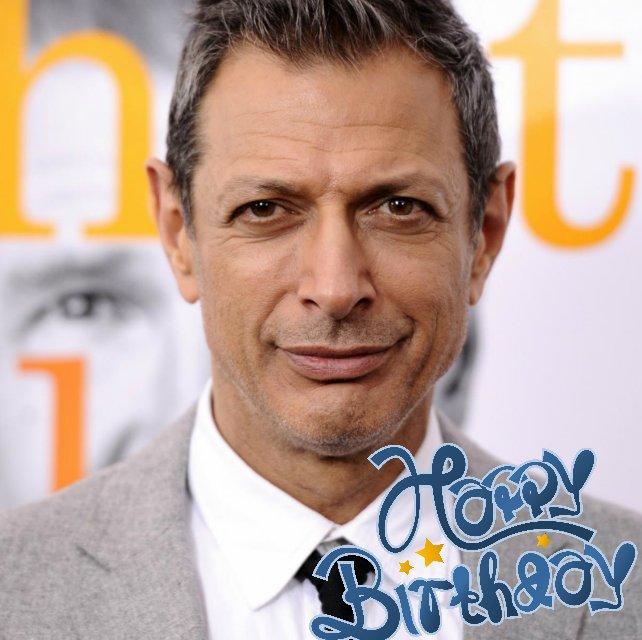 Happy Belated Birthday to Jeff Goldblum  10.22